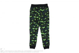 Neon 1st Camo Sweatpants by A Bathing Ape