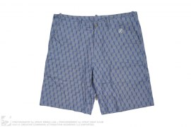 Cube Print Shorts by BBC/Ice Cream