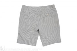 Seersucker Cabana Shorts by I Am Nameless