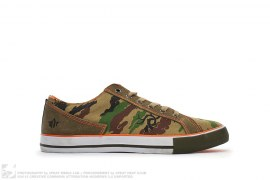 BONSAI WOODLAND CAMO LEATHER & CANVAS DAY SHOE by Maharishi