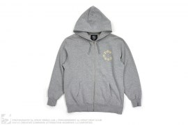 Chain Link C.S.T.C. Zip Up Hoodie by Crooks & Castles