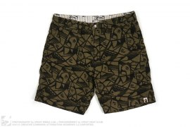 Flanel Shorts by A Bathing Ape
