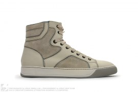Suede High Top Sneaker by Lanvin