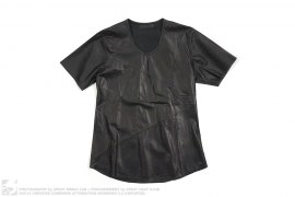 Leather Tee by En Noir