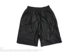 Leather Shorts by En Noir