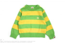 Borg Milo Border Sweater by A Bathing Ape