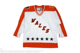 Wales 1983 CCM Vintage Throwback Hockey Jersey by NHL x Reebok