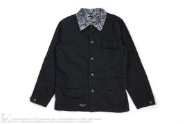 Paisley Accent Jacket by The Quiet Life