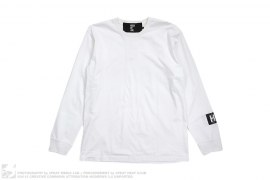 Plain Long HBA Sleeved Tee by Hood by Air