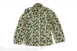 Milo Camo Sweat M65 Military Jacket by A Bathing Ape