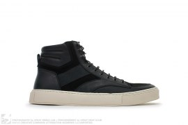 YSL SPF High Buffalo Suede Sneakers by Yves Saint Laurent