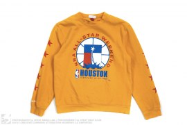 1989 Houston NBA All Star Game Sweatshirt by Mitchell & Ness x Just Don x NBA