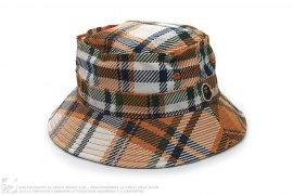 Plaid Crusher Bucket Hat by A Bathing Ape