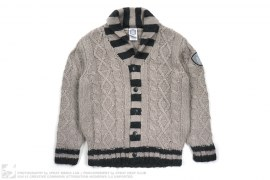 Cable Knit Cardigan Sweater by BBC/Ice Cream