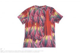 Tropical Floral Print Tee by Christopher Kane