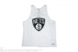 Brooklyn Nets Tank by Mitchell & Ness x NBA