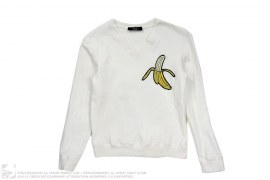 Banana V-Neck Sweatshirt by Victor & Rolf