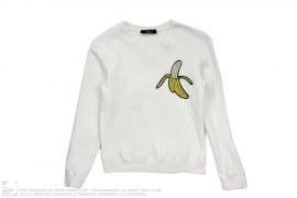 Banana V-Neck Sweatshirt by Victor & Rolf