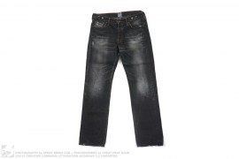 Distressed Vintage Wash JP Denim by PRPS