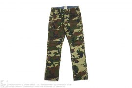 Woodland Camo Recon Cotton Pants by Obey