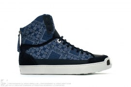 "On The Road ""Bandanna"" High Top Sneaker by Louis Vuitton"