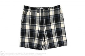 Plaid Wool Shorts by A Bathing Ape