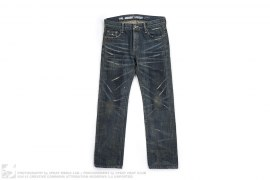 Beyond Savage Jeans Narrow Straight 14 OZ-PT Lv.4 Denim Jeans by Neighborhood