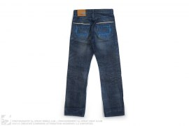 "Marwin ""Stash"" Paint Selvedge Denim by WeSC x Stash"