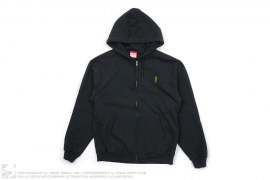 """Stay Strapped"" Zip-Up Hoodie by Reckin Crew"