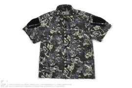 Octopus Army Ops SS Button-up by A Bathing Ape