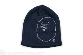 Line Apehead Beanie by A Bathing Ape