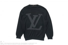 Big LV Cotton Sweater by Louis Vuitton