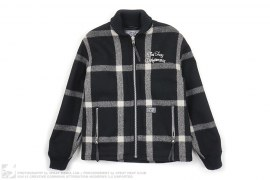 Wool Plaid Drifter Short Jacket by Neighborhood