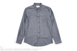 Slim Fit Cotton/Cashmere Button Down Shirt by Maison Martin Margiela