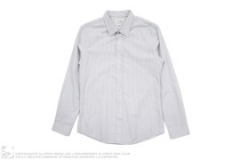 Slim Fit Striped Button Down Shirt by Maison Martin Margiela