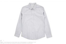 Slim Fit Striped Button Down Shirt by Maison Martin Margiela