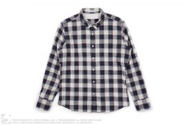 Plaid Button Down Shirt by J.Lindeberg