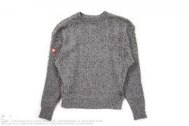 Cable Knit Sweater by Cav Empt