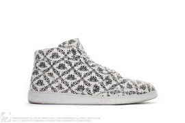 Floral Pattern Hightop Sneakers by Dolce & Gabbana