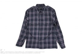 Virgin Wool Plaid Button Down Shirt by Marc Jacobs