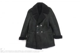 Suede Sheep Shearling Coat by Gucci