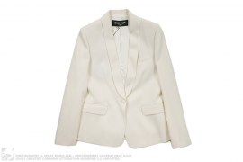 Blazer Dress Coat by Balmain