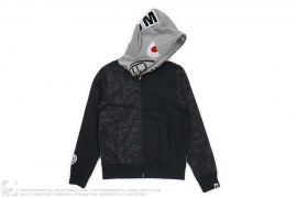 Unkle Pointman Man Hoodie by A Bathing Ape x Futura