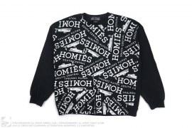 Homies Crewneck Sweatshirt by Bltee
