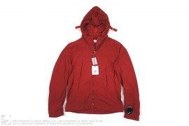 Nylon Insulated Hooded Jacket by CP Company