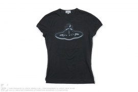 Airbrush Logo Graphic Tee by Vivienne Westwood