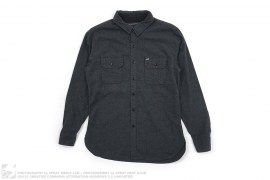 Flannel Button Down Shirt by Obey