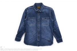 Denim Button Down Shirt by Obey