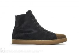 Parker Pony Hair High Top Sneakers by Marc Jacobs