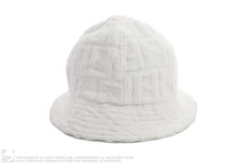 Terry Cloth Bucket Hat by Fendi